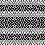 Geometric Intricate Stripe Pattern Stock Image