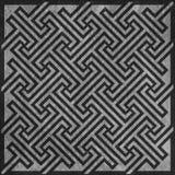 Geometric key pattern Royalty Free Stock Images
