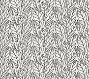 Geometric leaves vector seamless pattern. Abstract vector texture. Leaf background. Geometric trendy leaves vector seamless pattern. Abstract symmetry vector vector illustration