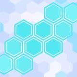 Geometric light blue background Royalty Free Stock Photo