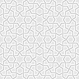 Geometric Light Grey Background Pattern Royalty Free Stock Images