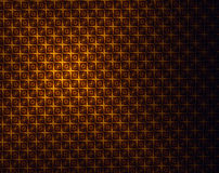 Geometric, light and shade gold background Stock Images