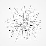 Geometric and Line Abstract Background. Vector illustration EPS 10 Stock Photography