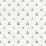 Geometric line monochrome abstract hipster seamless pattern with triangle. Wrapping paper. Scrapbook paper. Tiling Royalty Free Stock Photos