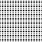Geometric line monochrome abstract seamless pattern with dot Stock Images