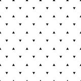 Geometric line monochrome abstract seamless pattern  Royalty Free Stock Photo