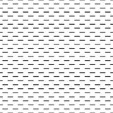 Geometric line monochrome abstract seamless pattern Stock Images