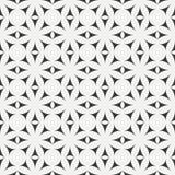 Geometric line monochrome lattice seamless arabic pattern. Islamic oriental style. Wrapping paper. Scrapbook paper Stock Photography