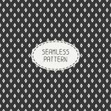 Geometric line seamless pattern with rhombus Royalty Free Stock Photography