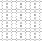Geometric line style seamless pattern background. Geometric line style seamless pattern. Hex and rhombus shape gray and white color net background. Cellular Stock Photography