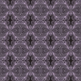 Geometric linear art deco pattern Royalty Free Stock Images