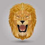 Geometric lion Royalty Free Stock Photos