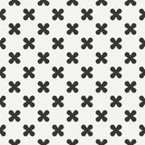 Geometric lmonochrome abstract hipster seamless pattern with cross, plus. Wrapping paper. Scrapbook paper. Tiling Stock Photo
