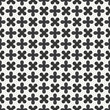 Geometric lmonochrome abstract hipster seamless pattern with cross, plus. Wrapping paper. Scrapbook paper. Tiling Royalty Free Stock Photos
