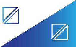 Geometric logo Royalty Free Stock Photos