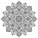 Geometric  mandala. Stock Photography