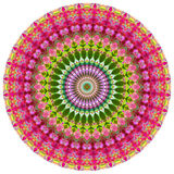 Geometric Mandala. Mandala created from fractals, Flower of Life Royalty Free Stock Photo