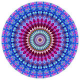 Geometric Mandala. Mandala created from fractals, Flower of Life Stock Photo