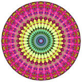 Geometric Mandala. Mandala created from fractals, Flower of Life Stock Photography