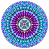 Geometric Mandala. Mandala created from fractals, Flower of Life Stock Photos