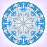 Geometric mandala. Royalty Free Stock Photos