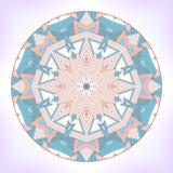 Geometric mandala. Royalty Free Stock Photography
