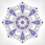 Geometric mandala. Stock Image