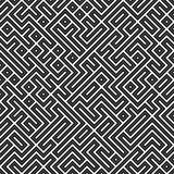 Geometric Maze. An abstract geometric maze background that tiles seamlessly in any direction Stock Photos