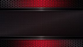 Geometric mesh background of a dark red hue. royalty free illustration