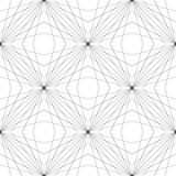 Geometric Mesh Seamless Pattern royalty free illustration