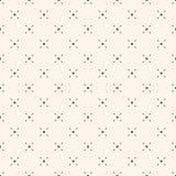 Geometric mesh seamless pattern with tiny diamond shapes. Vector minimalist background. Simple geometric seamless pattern with tiny diamond shapes, rhombuses royalty free illustration