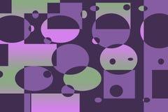 geometric mod retro Στοκ φωτογραφίες με δικαίωμα ελεύθερης χρήσης
