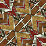 Geometric Modern Pattern Stock Photo