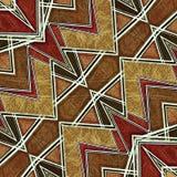 Geometric Modern Pattern Stock Photo