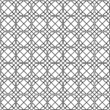 Geometric monochrome seamless pattern Stock Photos