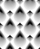 Geometric monochrome stripy seamless pattern, black and white ve. Geometric monochrome stripy seamless pattern, black and white  abstract background. Graphic Royalty Free Stock Image