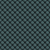 Geometric mosaic pattern from blue triangle texture, abstract vector background illustration Stock Images