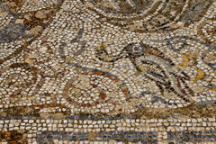 Geometric mosaic walk Royalty Free Stock Photography