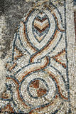 Geometric mosaic walk Royalty Free Stock Images