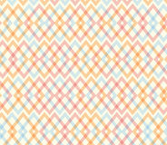 Geometric multicolor endless pattern. Netting light structure Royalty Free Stock Photos