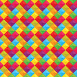 Geometric multicolor pattern Royalty Free Stock Photography