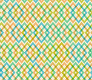 Geometric multicolor seamless pattern. Netting structure Stock Photography