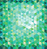 Geometric multicolored background Stock Photography