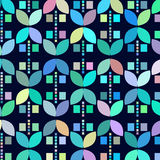 Geometric odd colorful  abstract background,  illustration Royalty Free Stock Image