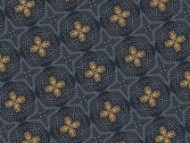 Geometric oriental pattern textured shapes illustration royalty free stock images