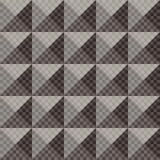 Geometric ornament. Seamless pattern Royalty Free Stock Photography