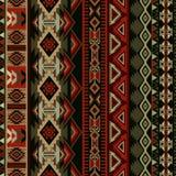 Geometric ornament for ceramics, wallpaper, textile, web, cards. Ethnic pattern. Border ornament. Native american design. Mexican motif Aztec ornament Royalty Free Stock Photos