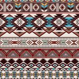 Geometric ornament for ceramics, wallpaper, textile, web, cards. Ethnic pattern. Border ornament. Native american design. Mexican motif Aztec ornament Stock Photography