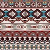 Geometric ornament for ceramics, wallpaper, textile, web, cards. Ethnic pattern. Border ornament. Native american design Stock Photography