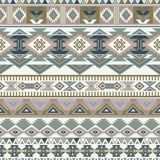 Geometric ornament for ceramics, wallpaper, textile, web, cards. Ethnic pattern. Border ornament. Native american design. Mexican motif Aztec ornament Stock Image